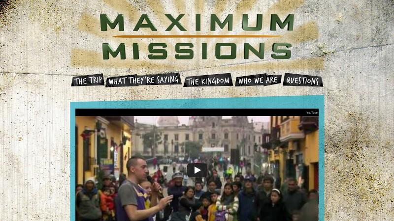 Maximum Missions
